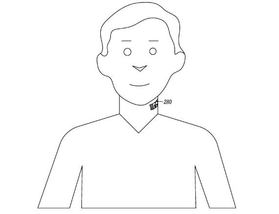"""From Google's patent. """"I'll have the 280, please!"""" (USPTO)"""