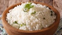 <p><strong>Cost:</strong> $1.99</p> <p>The key to low-carb meals is healthy replacements for your favorite starchy foods, and one of the best frozen foods in that role is riced cauliflower. A serving contains zero fat, just 3 grams of total carbs and only 1 gram of net carbs, and checks in with 40% of your day's requirement for vitamin C as well.</p>