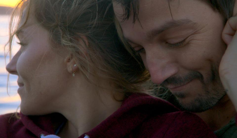"""Sienna Miller and Diego Luna play a couple whose entire relationship is revisited after a terrible car accident in the drama """"Wander Darkly."""""""