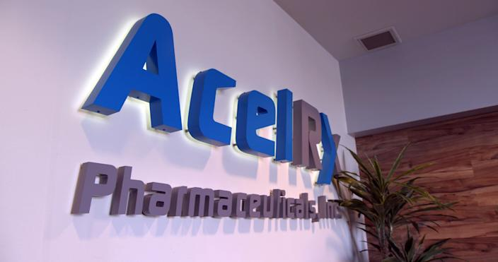AcelRX headquarters in Redwood City, CA. (Sam Matthews/Yahoo News)