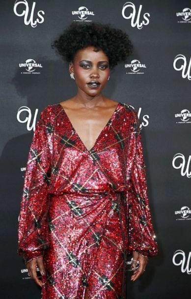 PHOTO: Lupita Nyong'o attends the screening of 'Us' at Picturehouse Central, March 14, 2019, in London. (Mike Marsland/WireImage via Getty Images)