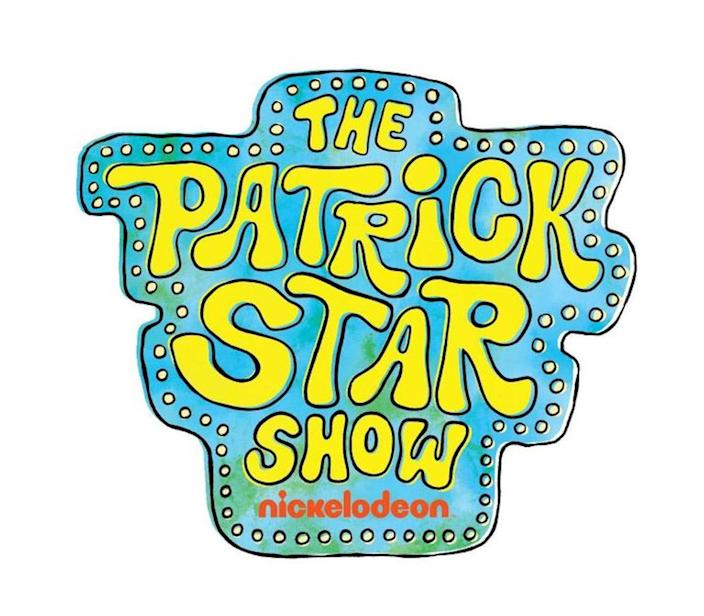 The official logo from the SpongeBob Squarepants spin-off series The Patrick Star Show on Nickelodeon