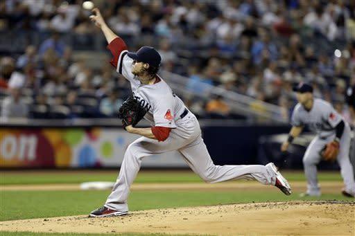 Buchholz, Red Sox beat Yankees 3-0 in 5½ innings