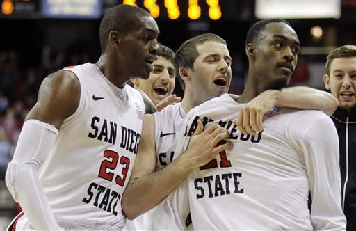 Franklin lifts No. 18 SDSU over BSU, 65-62