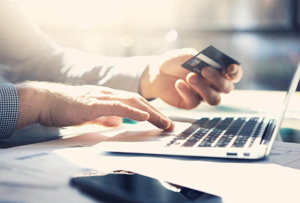 Online shopping on Black Friday and Cyber Monday. (Photo: Getty Images)