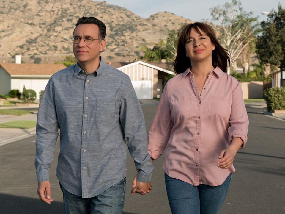 """Fred Armisen and Maya Rudolph in """"Forever."""""""
