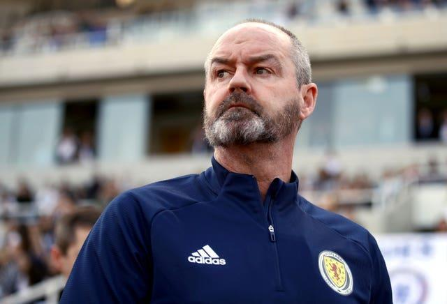 Scotland manager Steve Clarke is staying focused on the task at hand