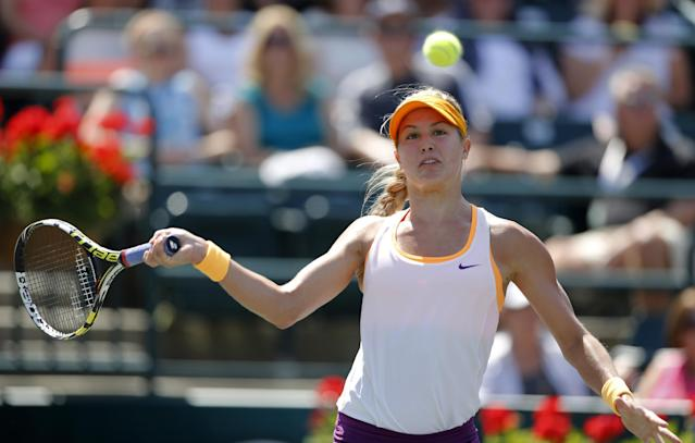 Eugenie Bouchard asks for, and receives, a wild card into the Family Circle Cup next week