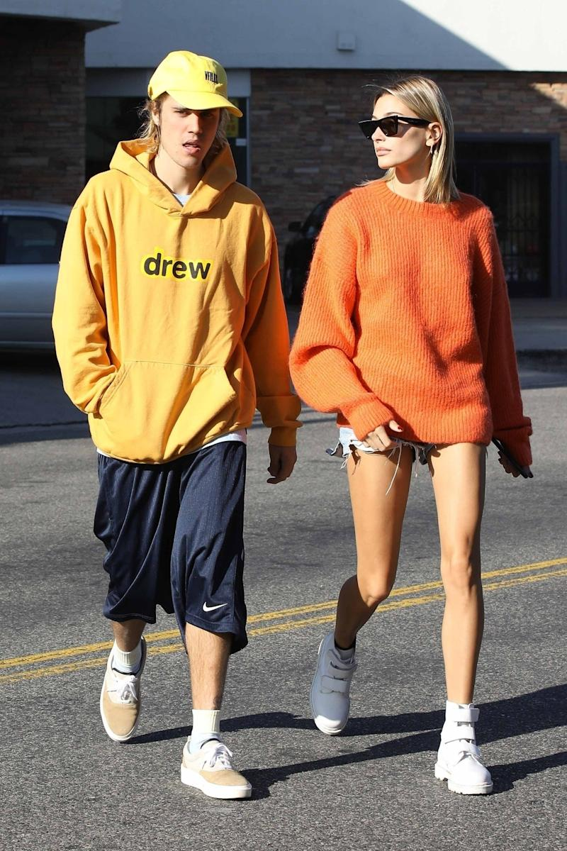 0e0c61af7b979 11 Times Justin Bieber and Hailey Baldwin Aced the Art of Couples Style