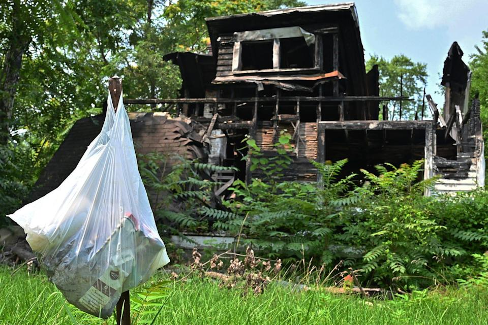 A Dayton home vacant for more than two years, according to neighbors, is among those the city hopes to demolish with funds from the American Rescue Plan.