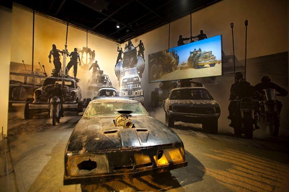"""The Petersen Automotive Museum Opens New Exhibit """"Hollywood Dream Machines: Vehicles Of Science Fiction And Fantasy"""""""