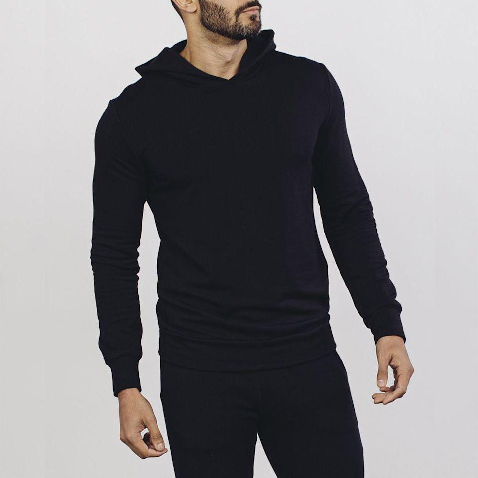 "<p>wearsoftwear.com</p><p><strong>$88.00</strong></p><p><a href=""https://wearsoftwear.com/products/mens-hoodie-obsidian"" rel=""nofollow noopener"" target=""_blank"" data-ylk=""slk:BUY IT HERE"" class=""link rapid-noclick-resp"">BUY IT HERE</a></p><p>The softest hoodie in the world is a very good gift. Especially for all those work-from-home days. Cozy as heck. </p>"