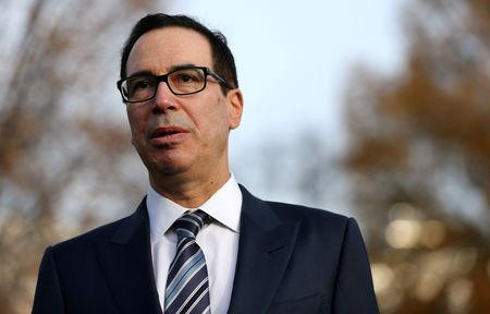 Mnuchin Called Top U.S. Bank Executives About Market Stability
