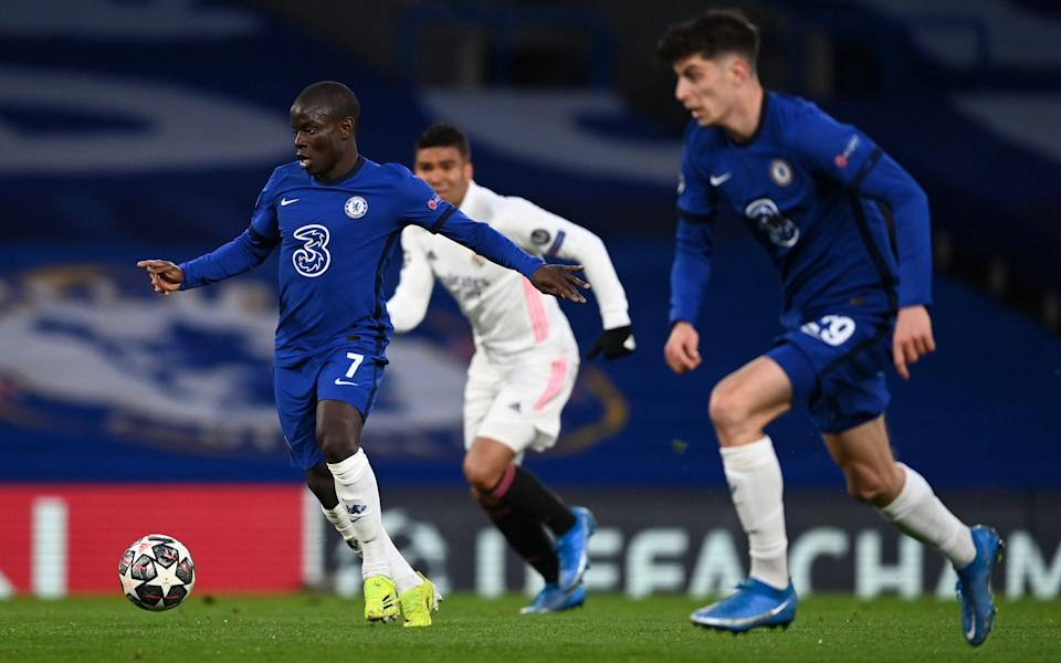 Chelsea vs Real Madrid, player ratings: N'Golo Kante excels in midfield as Eden Hazard goes missing - GETTY IMAGES