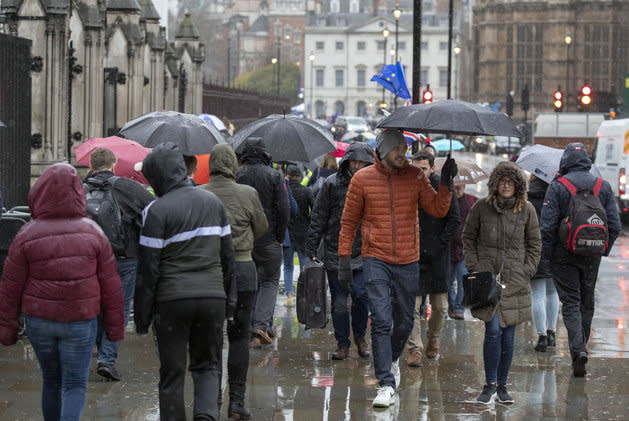 Conditions in the north will be wet and windy.