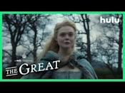 """<p>Sofia Coppola's <em>Marie Antoinette</em> meets Yorgos Lanthimos's <em>The Favourite</em> in this delightfully <a href=""""https://www.townandcountrymag.com/leisure/arts-and-culture/a32600699/the-great-hulu-cast-real-life/"""" rel=""""nofollow noopener"""" target=""""_blank"""" data-ylk=""""slk:anachronistic take on Catherine the Great's"""" class=""""link rapid-noclick-resp"""">anachronistic take on Catherine the Great's</a> rise to power. Elle Fanning stars as a naïve young Catherine, sent off to marry Nicholas Hoult's oafish Peter. Quickly, she realizes she may need to take matters into her own hands if she—or Russia, for that matter—is going to have any kind of happy ending.</p><p><a href=""""https://www.youtube.com/watch?v=hJGedvRfHYg"""" rel=""""nofollow noopener"""" target=""""_blank"""" data-ylk=""""slk:See the original post on Youtube"""" class=""""link rapid-noclick-resp"""">See the original post on Youtube</a></p>"""