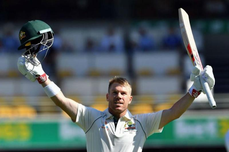 Cricketer David Warner Shaves Head in Support of COVID-19 Workers