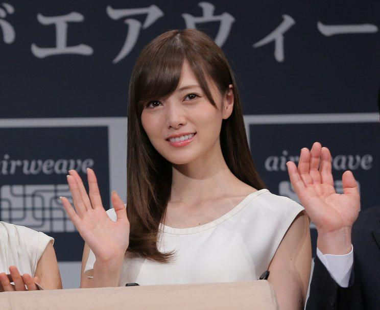 Nogizaka46's Mai Shiraishi tops 'looks-only' Japanese female
