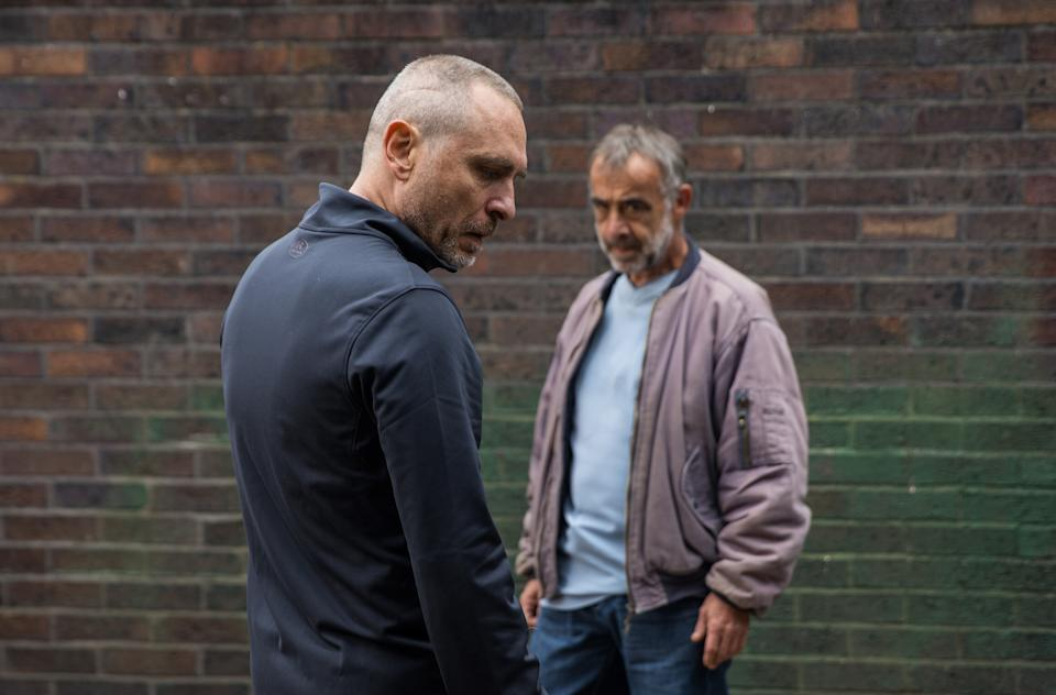 FROM ITV  STRICT EMBARGO - No Use Before Tuesday 28th September 2021  Coronation Street - Ep 10450  Friday 8th October 2021 - 1st Ep  Unable to shake his doubts, Kevin Webster [MICHAEL LE VELL] gets in his car and tracks down Tez [STEPHEN LORD] and spots him doing a drug deal. As Tez samples the goods from his drugs deal, Kevin edges nearer and snaps a photo on his phone. Kevin stands up to Tez, convinced he lied yesterday and has really seen Abi.  Kevin orders Tez to tell him all he knows or he will send the incriminating photo to his probation officer.  Picture contact David.crook@itv.com   Photographer - Danielle Baguley  This photograph is (C) ITV Plc and can only be reproduced for editorial purposes directly in connection with the programme or event mentioned above, or ITV plc. Once made available by ITV plc Picture Desk, this photograph can be reproduced once only up until the transmission [TX] date and no reproduction fee will be charged. Any subsequent usage may incur a fee. This photograph must not be manipulated [excluding basic cropping] in a manner which alters the visual appearance of the person photographed deemed detrimental or inappropriate by ITV plc Picture Desk. This photograph must not be syndicated to any other company, publication or website, or permanently archived, without the express written permission of ITV Picture Desk. Full Terms and conditions are available on  www.itv.com/presscentre/itvpictures/termsFROM ITV  STRICT EMBARGO - No Use Before Tuesday Tuesday 28th September 2021  Coronation Street - Ep 10449  Wednesday 6th October 2021 - 2nd Ep  Daniel OsbourneÕs [ROB MALLARD] miffed when Summer Spellman [HARRIET BIBBY] reveals sheÕs now using her mentorÕs personal statement for guidance rather than his.   Picture contact David.crook@itv.com   Photographer - Danielle Baguley  This photograph is (C) ITV Plc and can only be reproduced for editorial purposes directly in connection with the programme or event mentioned above, or ITV plc. Once