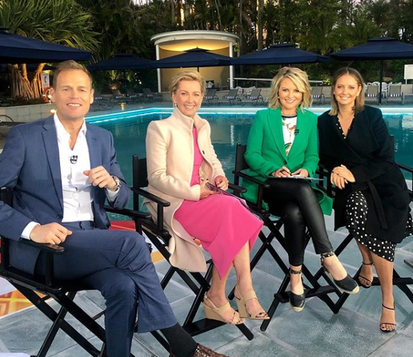 Today show Tom, Deborah Knight, Georgie Gardner, Brooke Boney