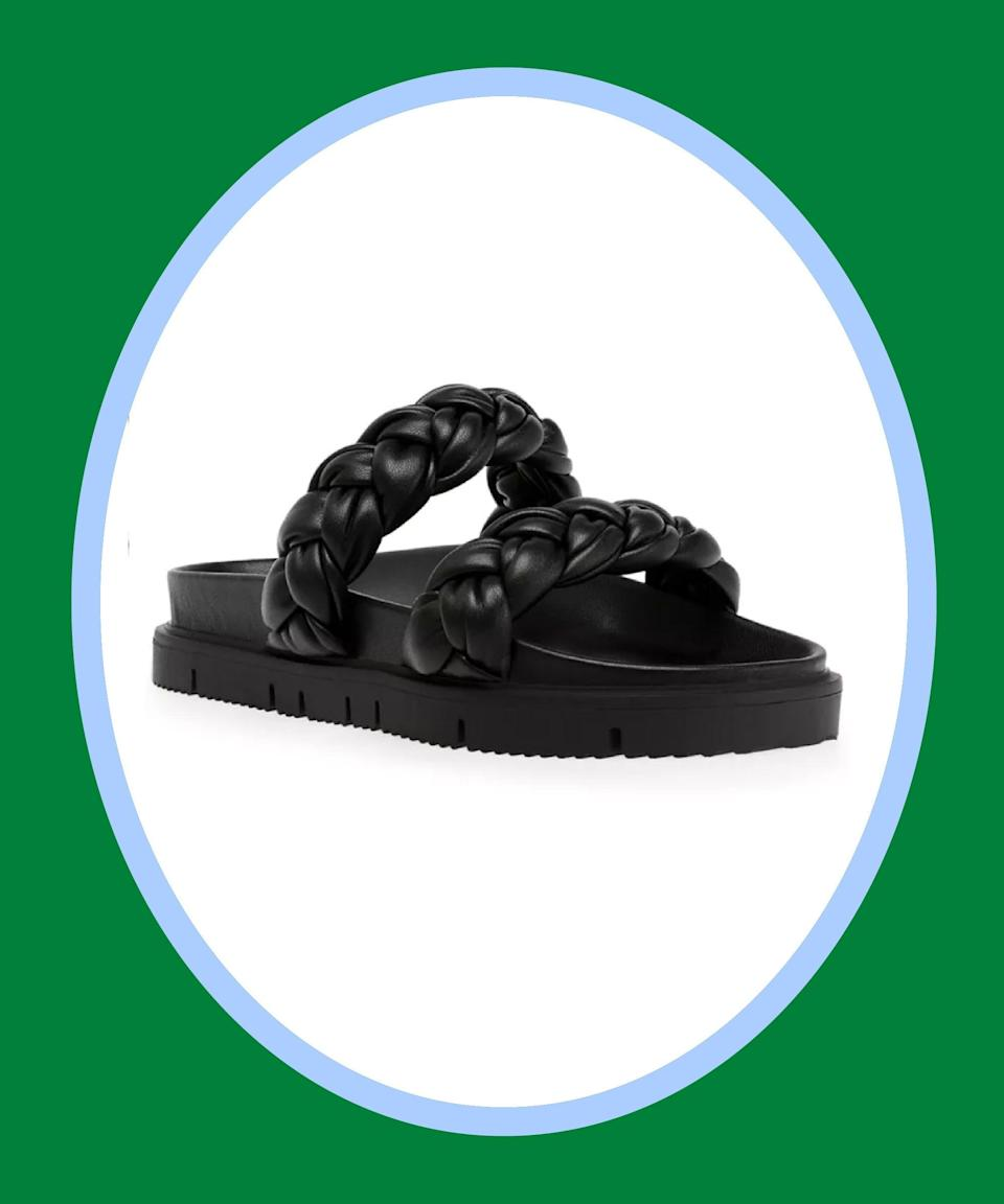 """<br><br><strong>Steve Madden</strong> Choice Braided Footbed Sandals, $, available at <a href=""""https://go.skimresources.com/?id=30283X879131&url=https%3A%2F%2Fwww.macys.com%2Fshop%2Fproduct%2Fsteve-madden-womens-choice-braided-footbed-sandals%3FID%3D11964141%26CategoryID%3D17570%26isDlp%3Dtrue%26swatchColor%3DBone"""" rel=""""nofollow noopener"""" target=""""_blank"""" data-ylk=""""slk:Macy's"""" class=""""link rapid-noclick-resp"""">Macy's</a>"""