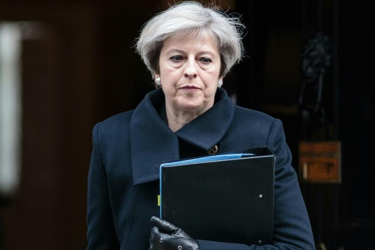 A premier britânica, Theresa May