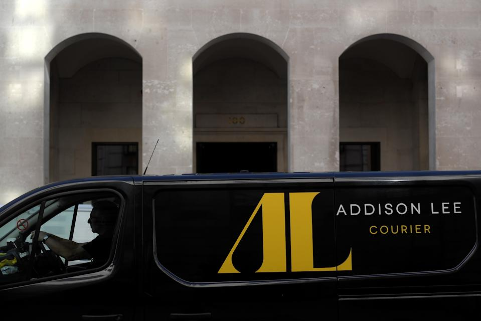 """Addison Lee is speaking to government and local health trusts to explore how its 4,000-strong fleet can be used to deliver """"more targeted, tailored"""" support, it said. Photo: Reuters/Toby Melville"""