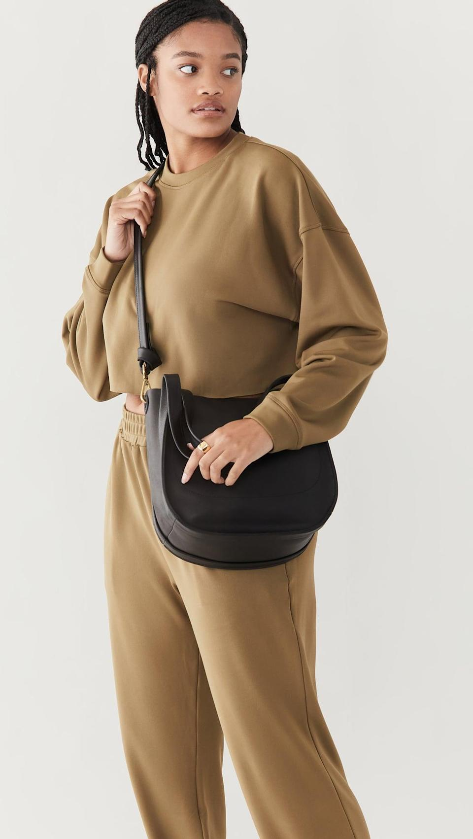 <p>The size and versatility of this <span>Madewell Sydney Shoulder Bag</span> ($168) make it ideal for everyday. It also comes in a pretty caramel shade.</p>