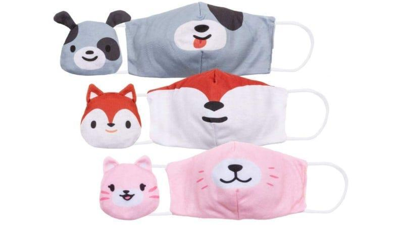 These face masks convert into furry friends.