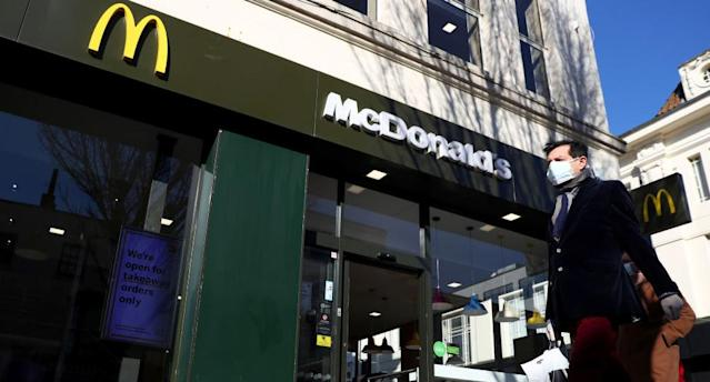 The McDonald's advertisement has been criticised online. . Source Getty Images