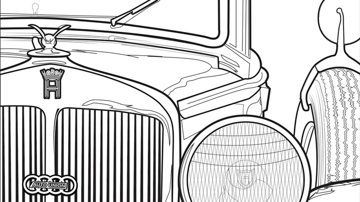 Free Car Coloring Pages | 666x1184