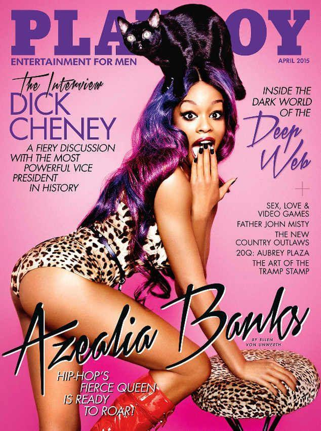 <p><strong>Issue: </strong>April 2015</p><p>Azealia Banks' colorful cover was as unique as she is.</p>
