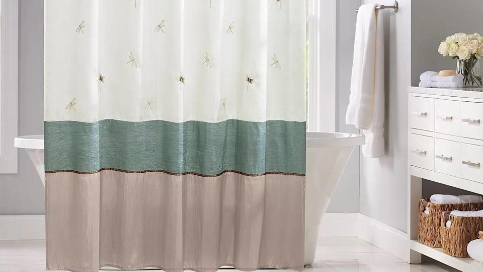 This Home Classics shower curtain is beloved for its colors and you can get it at Kohl's for less than $20.