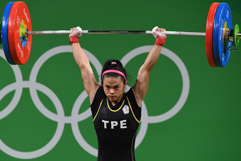 Image result for rio weightlifting images