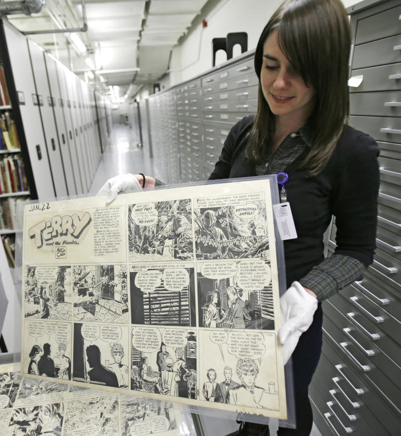 Comics lovers will be drawn to Ohio museum