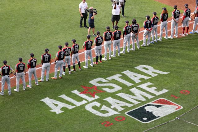 At this year's MLB All-Star Game, there are 36 first-time All-Stars. (Getty Images)