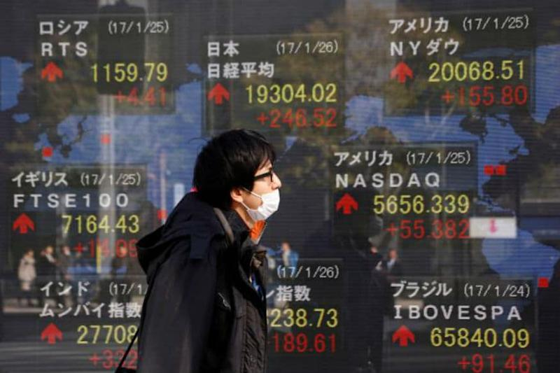 Asian Equities Receive Biggest Foreign Inflows in a Year in January