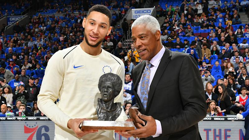 76ers legend Julius Erving says Ben Simmons has 'once-in-a-decade' skillset