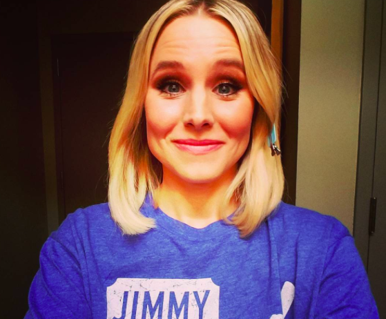 Kristen Bell made a dirty bedroom joke on Instagram, and we are here for it