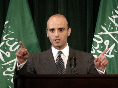 File image of then Saudi Foreign Policy Advisor Adel Al Jubeir in Washington