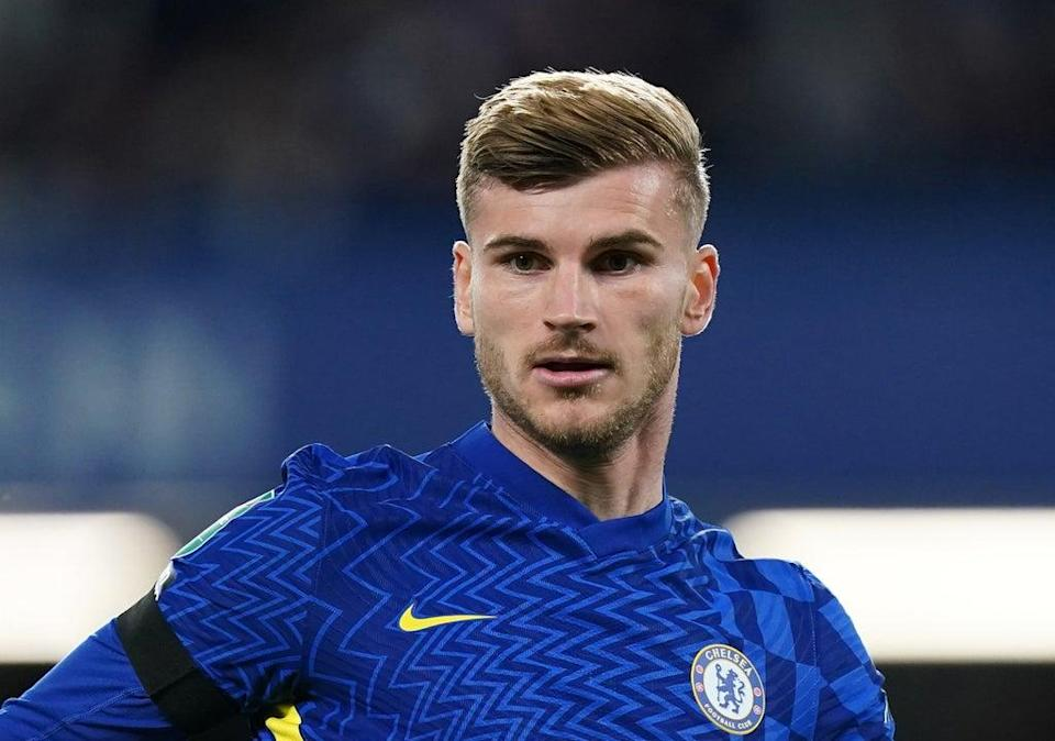 Timo Werner believes he can push back to top form now with Chelsea (Mike Egerton/PA) (PA Wire)
