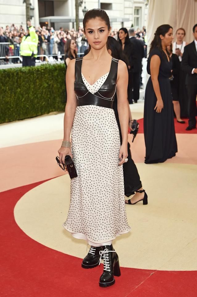<p>And so began her partnership with the French fashion house. <em>Dress, Louis Vuitton.</em></p>
