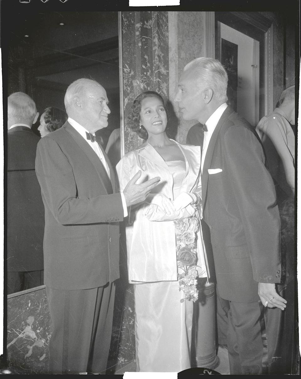 """<p>Dandridge's second husband <a href=""""https://www.biography.com/actor/dorothy-dandridge"""" rel=""""nofollow noopener"""" target=""""_blank"""" data-ylk=""""slk:reportedly mishandled her money"""" class=""""link rapid-noclick-resp"""">reportedly mishandled her money</a>. The nightclub owner lost the bulk of her savings after using it to invest in his failed restaurant.</p>"""