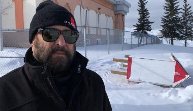 Raksh Joshi, president of the Hindu Society of Calgary, discovered that the management of his own temple was behind a mini food bank and library being cut down in the middle of the night.