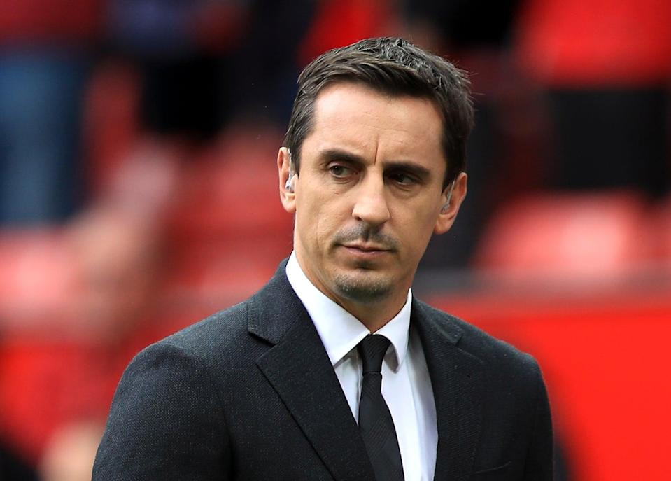 Gary Neville has called on the government to provide urgent help for struggling EFL clubs (PA)