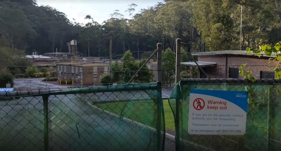 Hornsby Heights sewerage plant