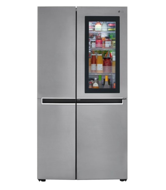 "LG 36"" 26.8 Cu. Ft. Side-By-Side Refrigerator. Image via Best Buy."