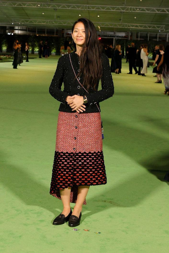 <p>in Chanel</p>