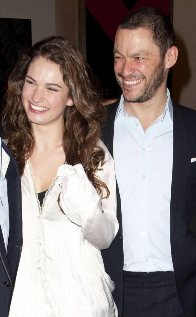 Lily James, Dominic West