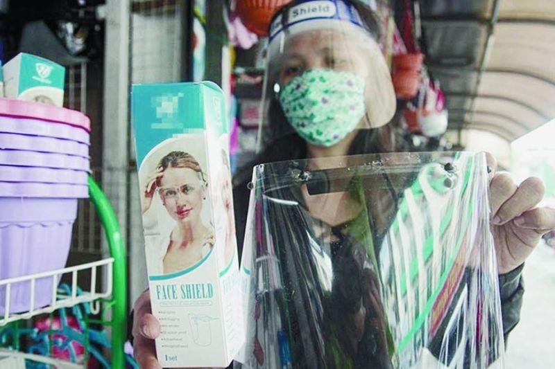 Mall requires shoppers to wear face shield; DTI to monitor prices